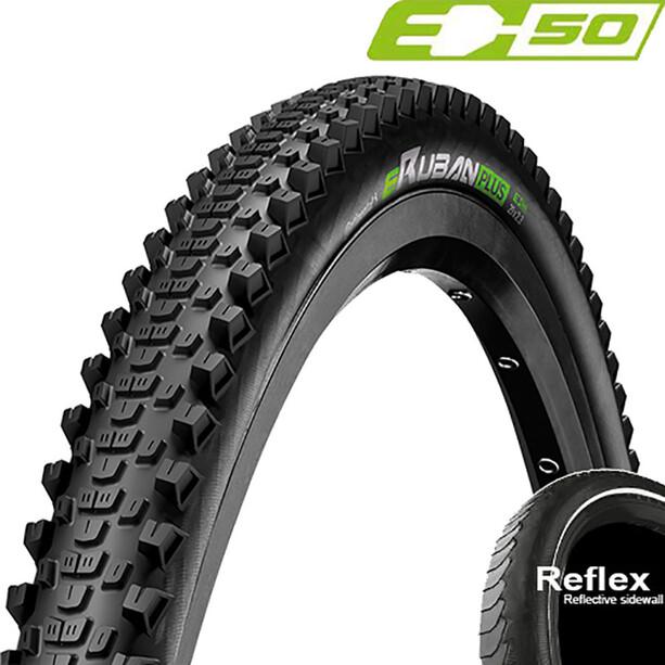 "Continental eRuban Plus Clincher Tyre 26x2.30"" E-50 Reflex, noir"
