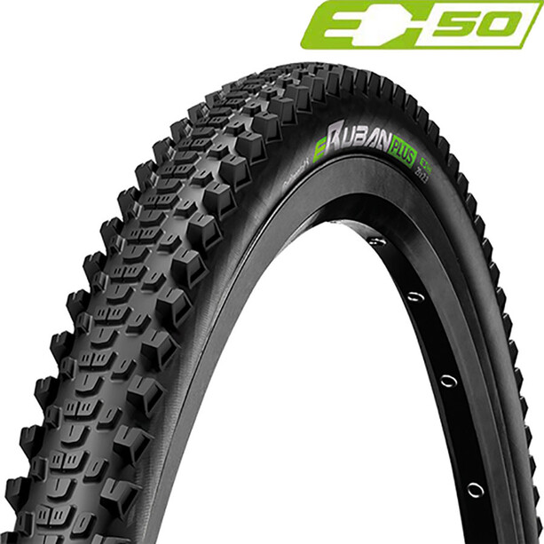 "Continental eRuban Plus Clincher Tyre 27.5x2.30"" E-50, noir"