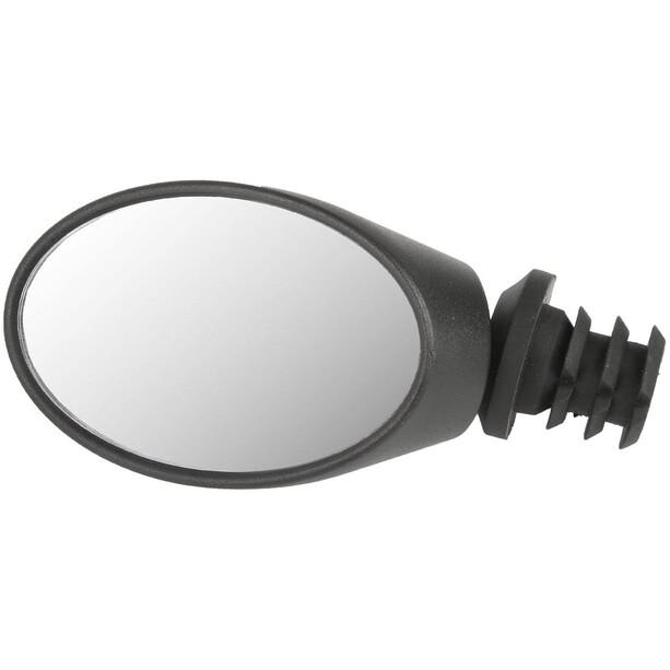 M-Wave Spy Oval Rückspiegel black