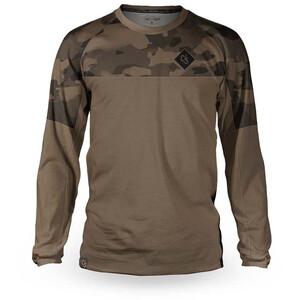 Loose Riders C/S Camo LS trøje Herrer, brun brun