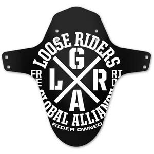 Loose Riders Schutzblech schwarz/weiß schwarz/weiß