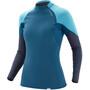 NRS HydroSkin 0.5 Long Sleeve Shirt Women blå