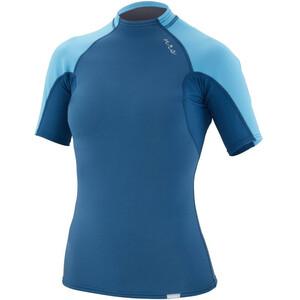 NRS HydroSkin 0.5 Short Sleeve Shirt Women blå blå