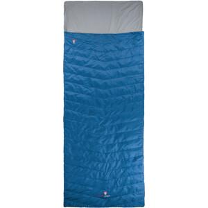 Grüezi-Bag Biopod Wolle Almhütte Sleeping Bag Kids, blauw blauw