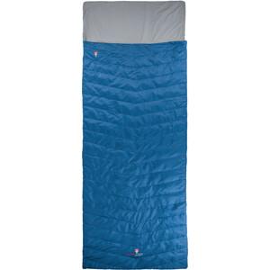 Grüezi-Bag Biopod Wolle Almhütte Schlafsack blau blau