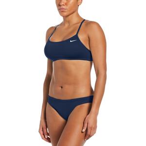 Nike Swim Essential Racerback Bikini Damen blau blau