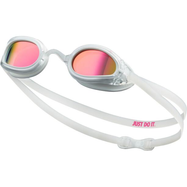 Nike Swim Legacy Polarized Goggles, blanc
