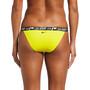 Nike Swim Logo Tape Banded Bikini Bottoms Women, jaune