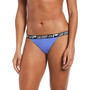 Nike Swim Logo Tape Banded Bikini Bottoms Women, bleu
