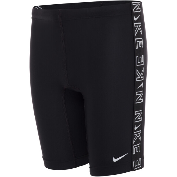 Nike Swim Logo Tape Jammers Boys, noir