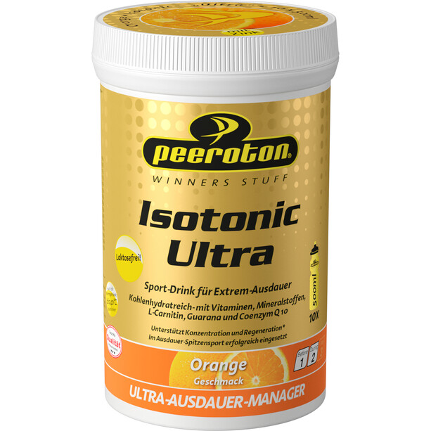 Peeroton Isotonic Ultra Sport Drink Dose 300g Orange