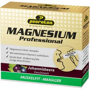Peeroton Magnesium Professional Sticks Box 20 x 2,5g Schwarze Johannisbeere
