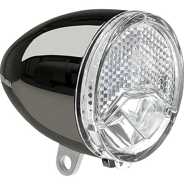 Axa 606 E6-48V Dynamo Scheinwerfer LED E-25 black/chrome