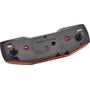 Axa Blueline E-Bike Rear Light 6-12V LED 80mm, rouge