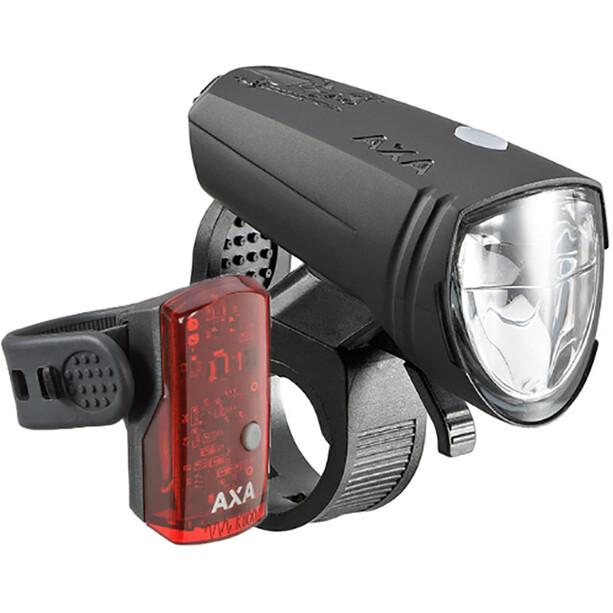 Axa Greenline 15 Beleuchtungsset black