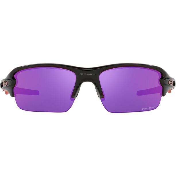 Oakley Flak XS Sonnenbrille Jugend schwarz/lila