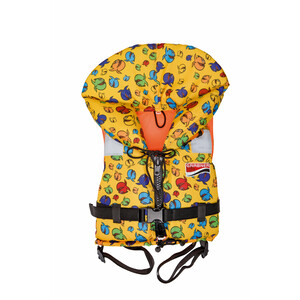 Grabner Bora Reddingsvest Kinderen, geel/bont geel/bont