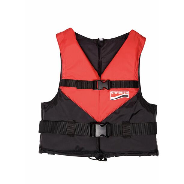 Grabner Viva 2021 Rettungsweste 50-70kg schwarz/rot