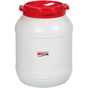 Grabner Kunststoffdose 15l weiß/rot weiß/rot