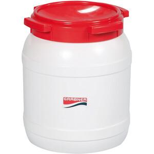 Grabner Plastic Can 26l, blanco/rojo blanco/rojo