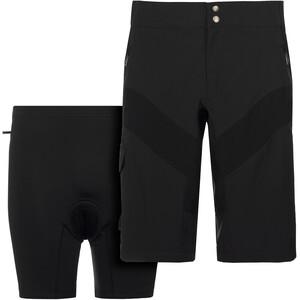 VAUDE SE Maro Pants II Fahrradshorts Herren schwarz schwarz