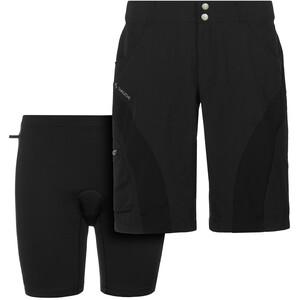 VAUDE SE Maro Pants II Fahrradshorts Damen schwarz schwarz