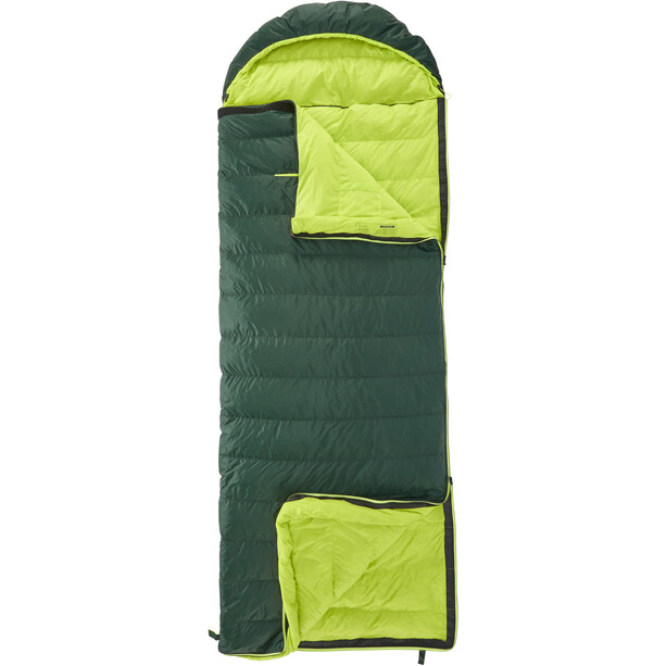 Y by Nordisk Tension Brick 400 Schlafsack L scarab/lime