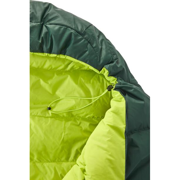Y by Nordisk Tension Mummy 500 Sleeping Bag M, musta/vihreä