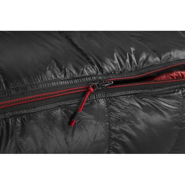Y by Nordisk V.I.B 400 Schlafsack M schwarz/rot