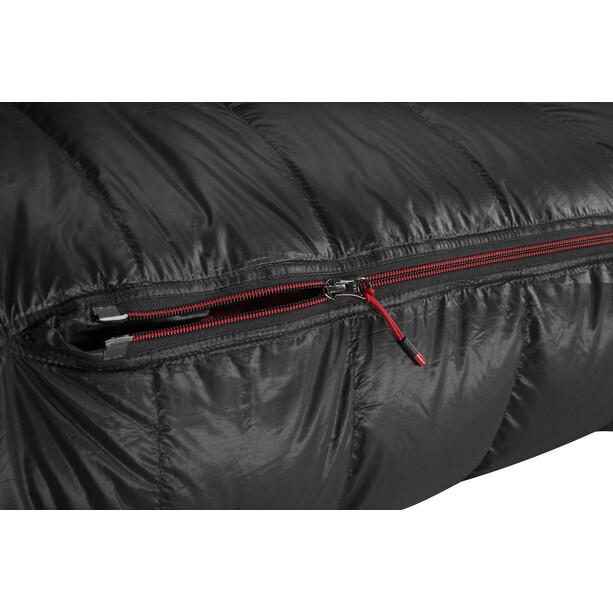 Y by Nordisk V.I.B 600 Schlafsack M black/fiery red