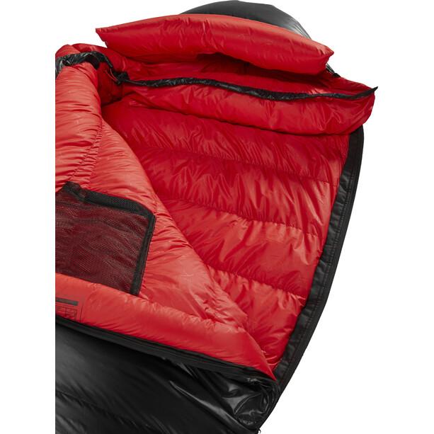 Y by Nordisk V.I.B 800 Schlafsack L black/fiery red