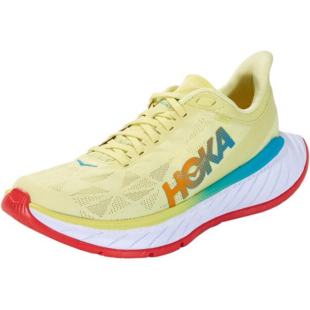 Hoka One One Carbon X 2 Shoes Women, jaune