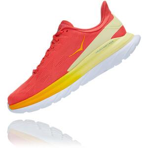 Hoka One One Mach 4 Schuhe Herren rot/gelb rot/gelb