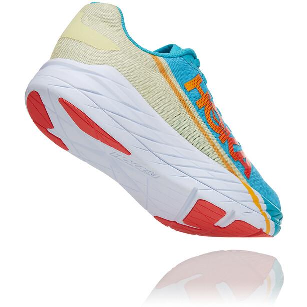 Hoka One One Rocket X Shoes, turkoosi/keltainen