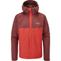 deep heather/ascent red