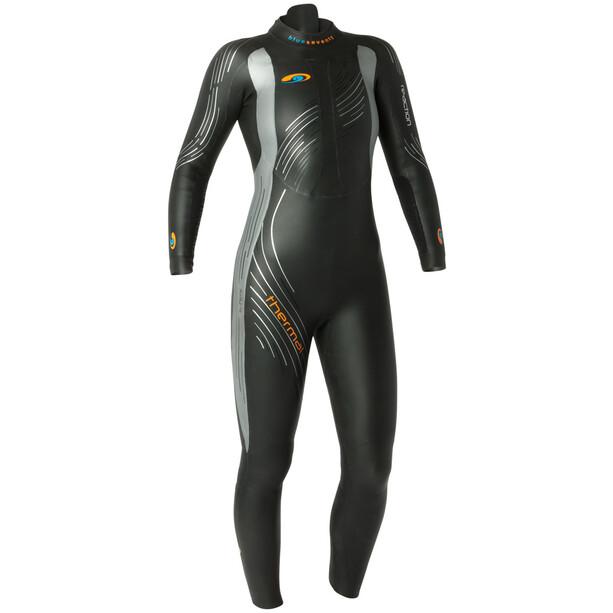 blueseventy Reaction Thermal Wetsuit Women, black/silver