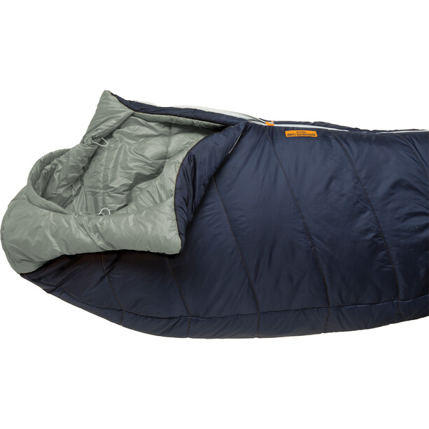 Big Agnes Sidewinder Camp 35 Schlafsack Long indigo/gray