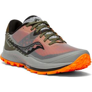 saucony Peregrine 11 Schuhe Herren grau/bunt grau/bunt