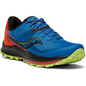 saucony Peregrine 11 Schuhe Herren blau/orange blau/orange