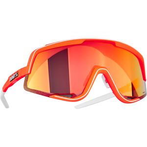100% Glendale Glasses neon orange/hiper red multilayer mirror neon orange/hiper red multilayer mirror