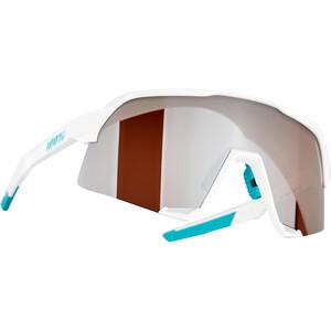 100% S3 Bora Hansgrohe Special Edition Glasses, blanco/Plateado blanco/Plateado