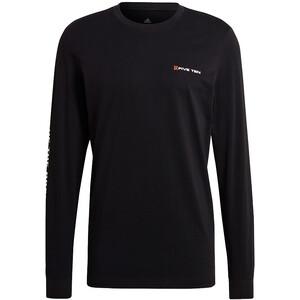adidas Five Ten Graphics Langarm T-Shirt Herren schwarz schwarz
