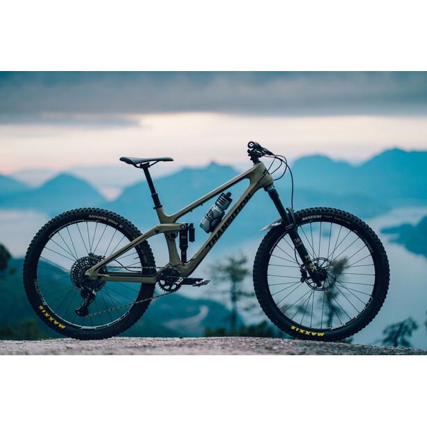 Transition Bikes Scout Rahmenkit Carbon grün
