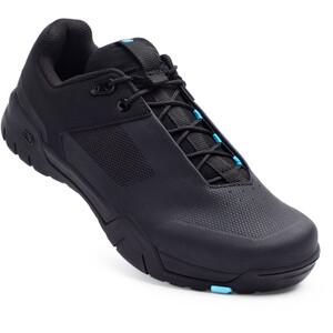 Crankbrothers Mallet E Lace Schoenen, zwart/blauw zwart/blauw