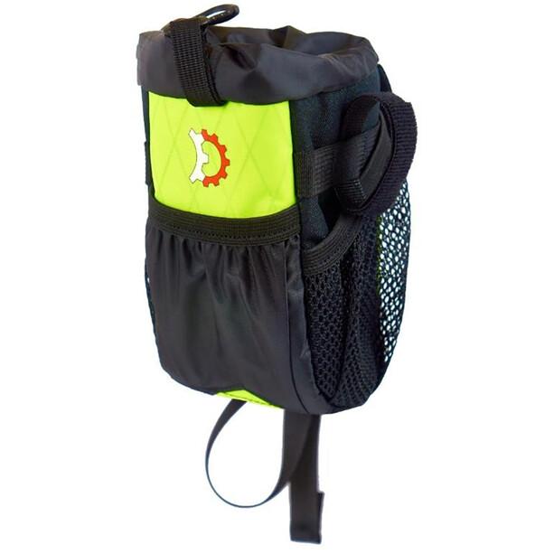 Revelate Designs Mountain Feedbag Handelbar Bag 1l, noir/jaune