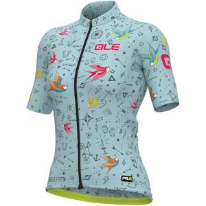 Alé Cycling Maglia Donna MC Kurzarmtrikot Damen türkis türkis