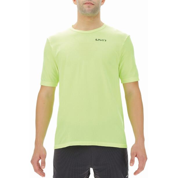 UYN Airstream Shortsleeve Running Shirt Men, jaune