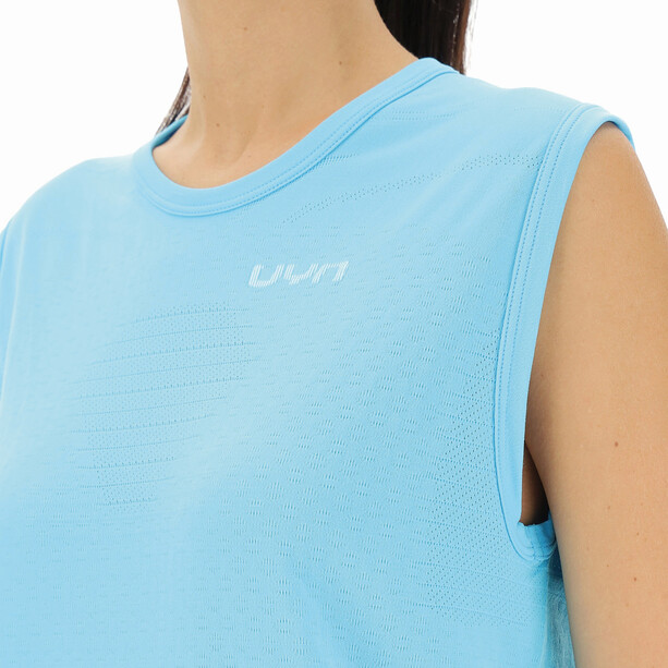 UYN Airstream Sleeveless Running Shirt Women, blue atoll