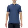 UYN City Shortleeves Running Shirt Men, bleu