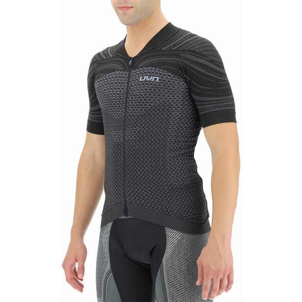 UYN Coolboost Shortsleeve Biking Shirt Men, bullet/jet black